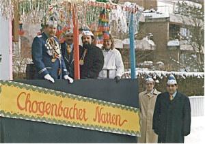 Narren bei einem Umzug im Jahre 1984. (Bild: zvg)