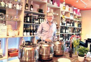 Über Mittag serviert Siegfried Soya auch Suppen. (Bild: ek)