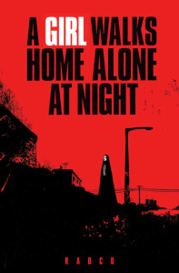 "Filmposter von ""A Girl Walks Home Alone at Night"". (Bild: zvg)"