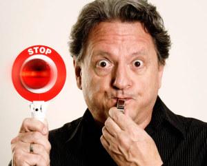 Der Künstler sagt Stopp. (Bild: zvg)