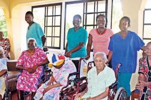 Die Bewohner des Alten- und Armenheims freuen sich über die Spenden. (Bild: zvg)