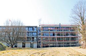 47 Millionen Franken investiert das Alterszentrum Kreuzlingen in Neubau und Modernisierung.(Bild: ek)