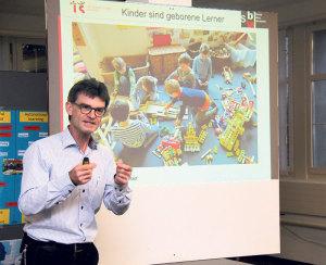«Auch beim spielen lernen Kinder», sagt Christoph Bornhauser.(Bild: ek)