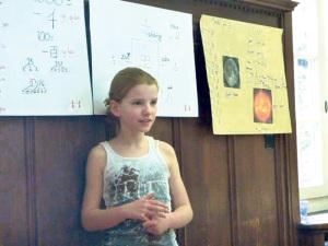 «Ich lerne gerne Mandarin», sagt eine talentierte Schülerin der ISKK. (Bild: zvg)