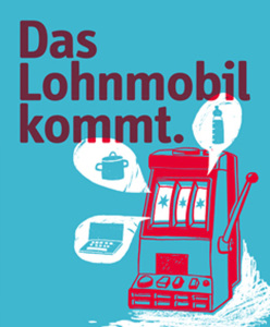Das Lohnmobil - Eine Wanderausstellung zur Lohngleichheit von Frauen und Männern (Bild: zvg)