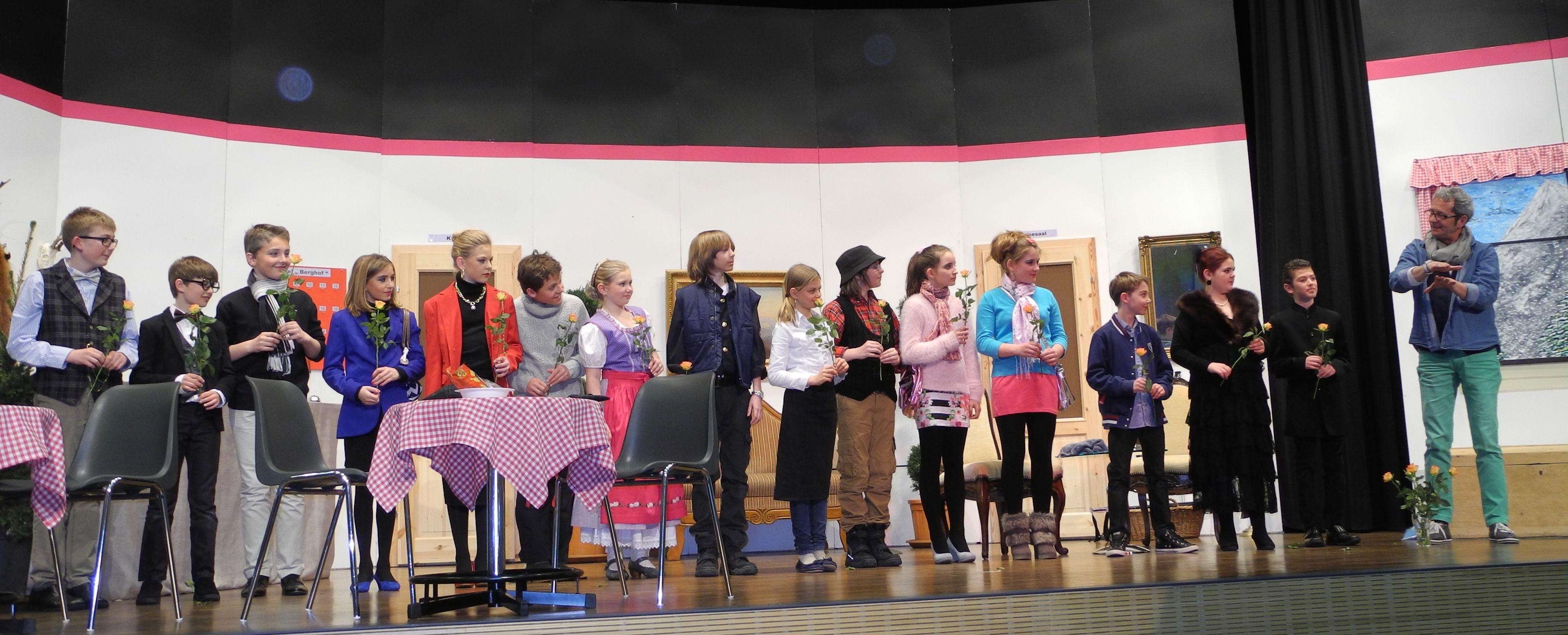 Erfolgreiche Jungdarstellerinnen und - darsteller in Salenstein. (Bild: zvg)