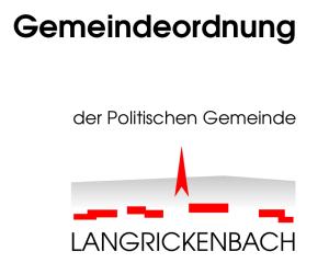 Die Langrickenbacher wollen eine neue Gemeindeordnung. (Bild: klz)
