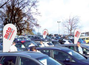 Kreuzlinger Autohändler präsentieren an der Gewa ihre Occasionen. (Bild: zvg)
