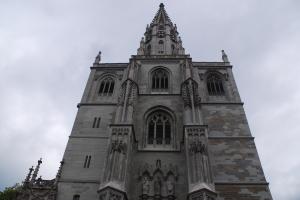 Das Konstanzer Münster war bereits mehrmals Schauplatz für Suizid-Tragödien. (Bild: commons.wikimedia.org)