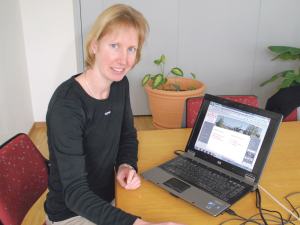 Frau Gemeindeammann und bald Gemeindepräsidentin Fabienne Schnyder. (Bild: Archiv)