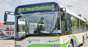 Fast zehn Prozent mehr Passagiere konnte der Kreuzlinger Stadtbus verzeichnen. (Bild: archiv)