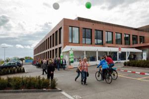 Am Tag der offenen Tür «3i Osttrakt» vom vergangenen Samstag hatte die Bevölkerung die Möglichkeit den neuen Anbau des Kantonsspitals Münsterlingen zu begehen. (Bild: zvg)