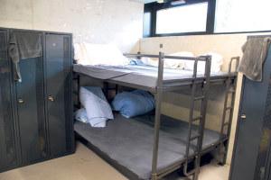 Schlafplätze im Kreuzlinger Asylheim. (Bild: Stefan Böker)