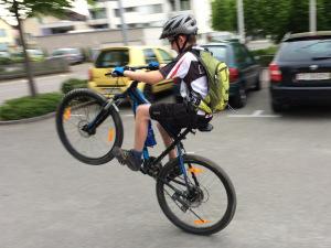 Spass beim Biken. (Bild: zvg)