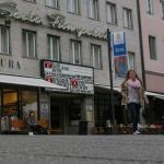 Der Scala Filmpalast, daneben das Café Marktstätte. (Bild: Stefan Böker)