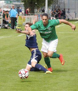Beide Teams zeigten vollen Einsatz. (Bild: Mario Gaccioli)
