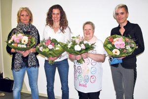 Susanne Hortien (v.l.), Karin Löhri, Annemarie Lindner, Julia Ehrensperger. (Bild: zvg)