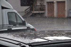 Es regnete in Strömen. (Bild: zvg)