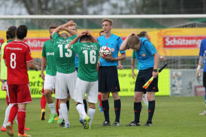 Im letzten Spiel kassierten die Kreuzlinger eine gelbe Karte zuviel für den Aufstieg. (Bild: Mario Gaccioli)