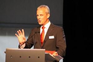 André Ess leitet seine erste Generalversammlung als Verwaltungsratspräsident. (Bild: zvg)