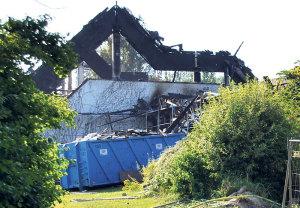 Die Ruine des Konstanzer Schwaketenbads.(Bild: klz)