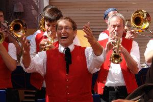 Freude herrscht beim Altstadtfest in Engen. (Bild: zvg)