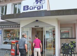Nur noch bis Ende August gibt es das Café Bürgi in Scherzingen. (Bild: Thomas Martens)