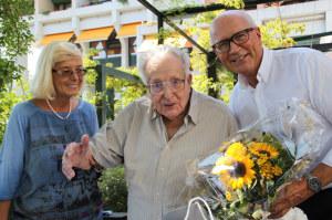 Marianne Spagolla, Felix Kober und Stadtpräsident Andreas Netzle. (Bild: zvg)