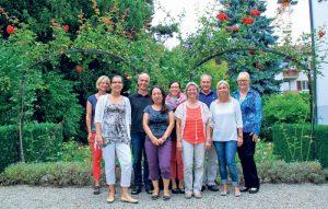 Fünf Familienhelferinnen und vier Coaches der Familienhilfe unterstützen Mütter und Väter. (Bild: ek)