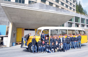 Das Team des Architekturbüros Aemisegger.(Bild: zvg)