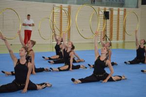Die Gymnastikgruppe in Yverdon. (Bild: zvg)