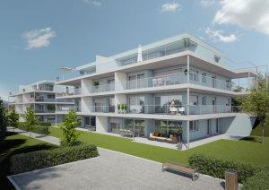 Die neuen Wohnungen sollen im Winter 2016 fertiggestellt sein. (Bild: zvg)