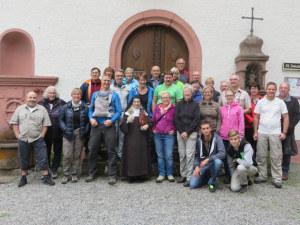 Wandergruppe am Sonntag. (Bild: zvg)