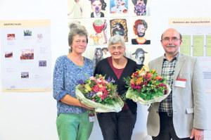 Das Flüchtlingscafé an der Freiestrasse 28A feierte am Mittwochabend sein 20-jähriges Bestehen. Sogar Regierungsrätin Cornelia Komposch war gekommen, um die Arbeit des Vereins AgaThu (Arbeitsgruppe für Asysuchende Thurgau) zu honorieren. (Bild: zvg)