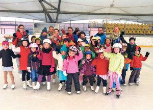 Schlittschuhlaufen leicht gelernt mit den Eislaufkursen des EHCKK.(Bild: zvg)