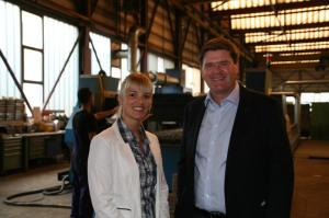 Diana Gutjahr und Hansjörg Brunner, überparteilich und motiviert im Wahlkampf. (Bild: zvg)