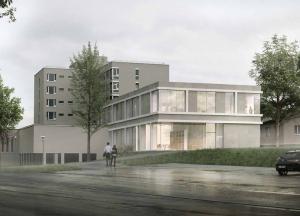So soll das neue Gebäude aussehen. (Bild: zvg)