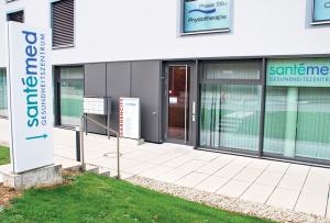 Das Santémed-Gesundheitszentrum in Kreuzlingen. (Bild: Thomas Martens)