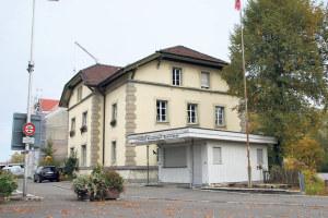 Das Zollhaus ist nun im Besitz der Stadt Kreuzlingen. (Bild: sb)
