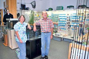 Trudi und Walter Vögeli verabschieden sich Ende Monat in den Ruhestand. (Bild: tm)