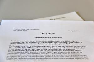 2012 wurde der Stadtrat beauftragt, Kreuzlingen von Atomstrom zu befreien. Doch noch immer werden für die CO2-Bilanz Kernkraftzertifikate hinzugekauft. (Bild: ek)