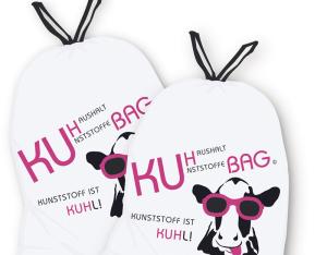 So sehen die neuen Säcke für Kunsstoffabfälle aus. (Bild: zvg)