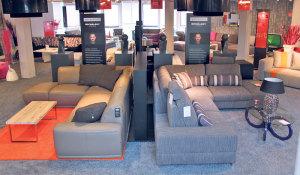Bei sit Down ist jetzt die Möbelkollektion von Michael Michalsky zu haben. (Bild: ek)