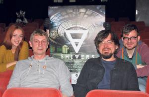 Freuen sich auf fünf Tage voller Filme ab 18: (v.l.) Julia Bihls, Heinz Baumgartner, Stefan Schimek und Christoph Sinz. (Bild: sb)