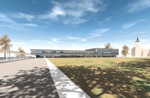 So könnte das neue Stadthaus aussehen. (Bild: zvg)