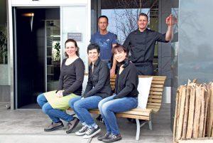 Das Team des ParkKafis hält auch in den kalten Monaten seine Gäste warm. (Bild: ek)