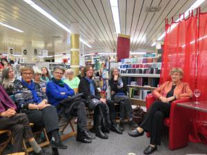 Clara Kanerva las in der Buchhandlung Bodan. (Bild: zvg)