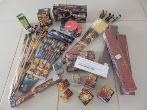 Bei der Einfuhr von Feuerwerk gibt es einiges zu beachten. (Bild: zvg)