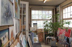 Blick ins Atelier von Kurt Lauer. (Bild: sb)