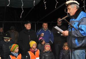Sonnwendfeier mit Roberto Lüttin. (Bild: zvg)